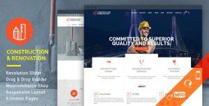 Construction - theme wordpress viet nam