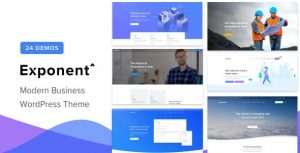 Exponent - theme wordpress viet nam