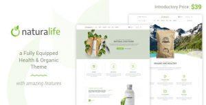 NaturaLife - theme wordpress viet nam