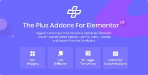 The Plus – Addon for Elementor Page Builder
