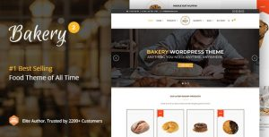 Bakery - WordPress Cake & Food Theme